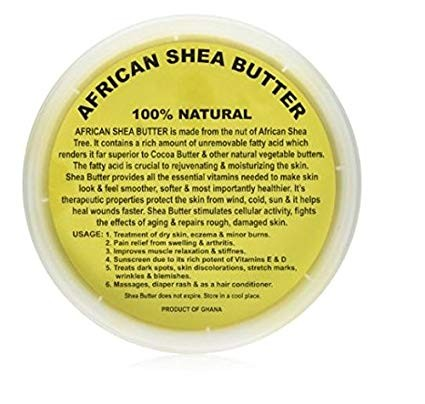 REAL African Shea Butter 100% Pure Unrefined, Organic