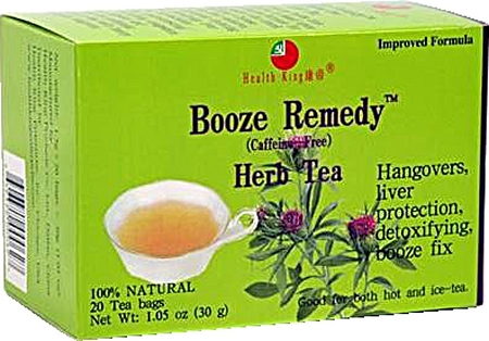 Health King Booze Remedy Herb Tea (20 Tea Bags)