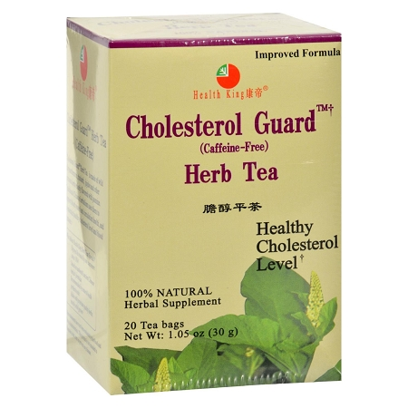 Cholesterol Guard Herb Tea, Health King