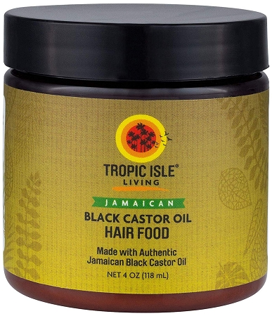 Tropic Isle Living Jamaican Black Castor Oil Hair Food (4oz)