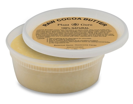Raw Cocoa Butter 100% Pure Unrefined Organic Premium Grade A 14.5 Oz