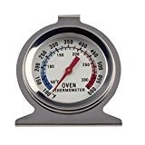 Thermoven |Premium Stainless Steel Oven Dial Thermometer |100F to 600F Degrees Temp. Range|Hang or Stand in Oven