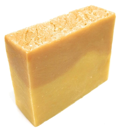 Patchouli & Tangerine Soap 4oz Bar - 100% All Natural, Non-GMO ingredients