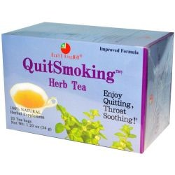Health King and Balanceuticals Herb Tea - Quit Smoking - 20 Bags