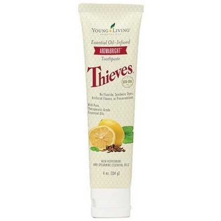 Young Living Essential Oils THIEVES AROMABRIGHT TOOTHPASTE [NO FLUORIDE] 4.4 OZ