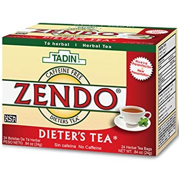 Zendo Herbal Dieters Tea Caffeine Free - 24 Tea Bags