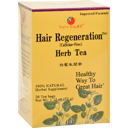 Health King and Balanceuticals Herb Tea - Hair Regeneration - 20 Bags