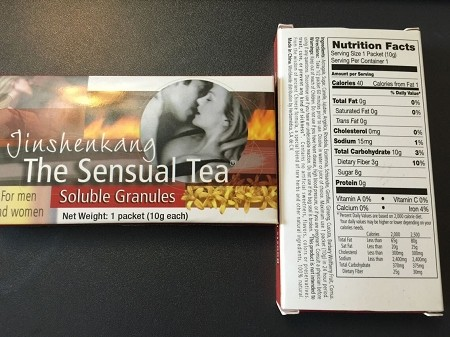 Jinshenkang Sensual Tea (6 Packs)